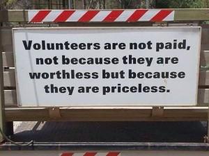 volunteers-priceless