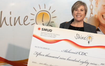 Alchemist CDC Awarded SMUD Shine Grant!