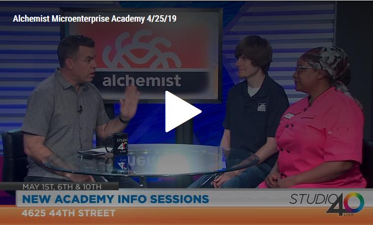 Fox40 Studio40 Live: Alchemist Microenterprise Academy Coming Soon