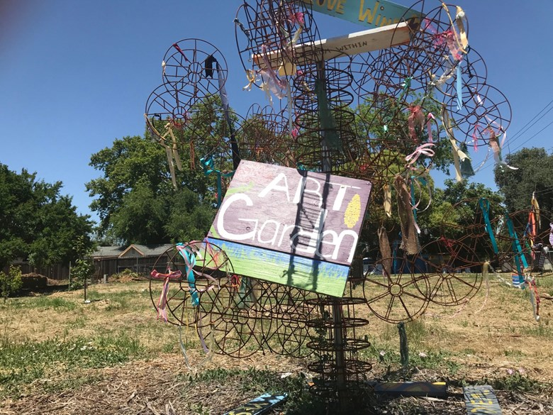 Capital Public Radio: Sacramento's First Edible Art Garden Could Soon Pop-Up In Oak Park — And Grow Into A Food Forest
