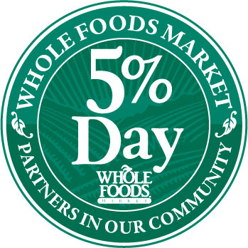 """A BIG """"thank you!"""" to Whole Foods Market and everyone who shopped on January 11th to support Alchemist CDC on 5% Day!"""