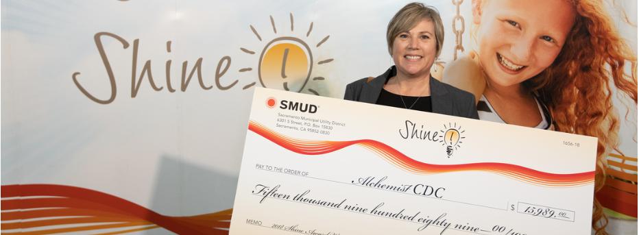 Alchemist CDC Awarded SMUD Shine Grant!
