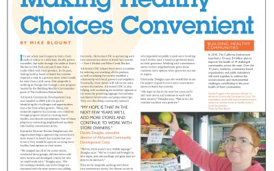 Sacramento News & Review: Making Healthy Choices Convenient